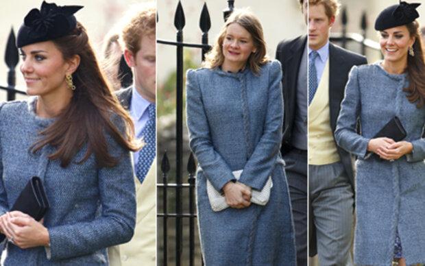 Herzogin Kate hatte eine Outfit-Doppelgängerin