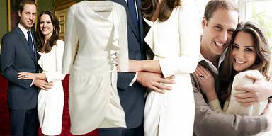 Kate Middleton Kleid von Reiss 'Nannette'