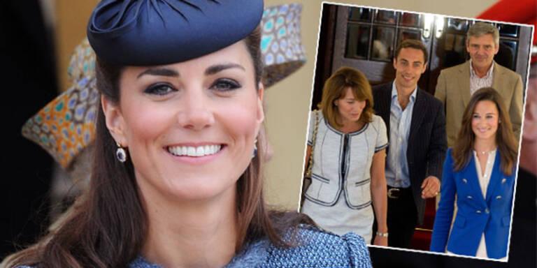 Kates Eltern: 5,8 Mio. Euro für Luxus-Villa