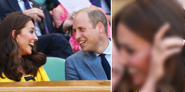 Louis' Geburt: Kate zeigt Williams Geschenk