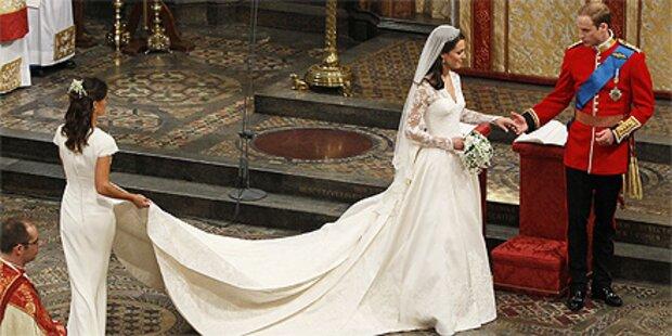 Heirat kostete Middletons Viertelmillion