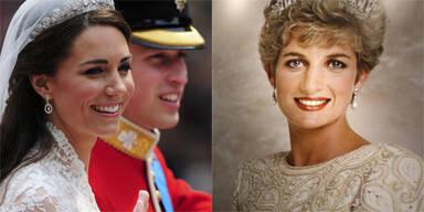 Kate Middleton Prinzessin Diana