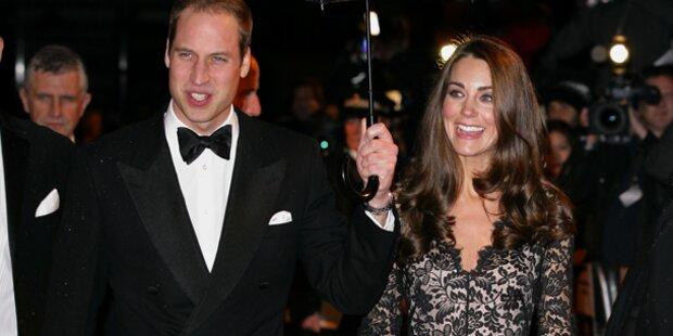 Prinz William & Kate: Babypläne auf Eis