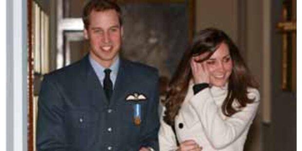 William & Kate waren bei Hochzeit in Salzburg