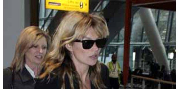 Kate Moss' Gepäck in Heathrow verloren