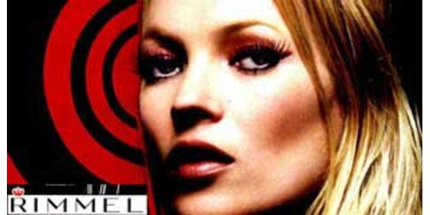 Falsche Wimpern von Kate Moss sorgen für Ärger