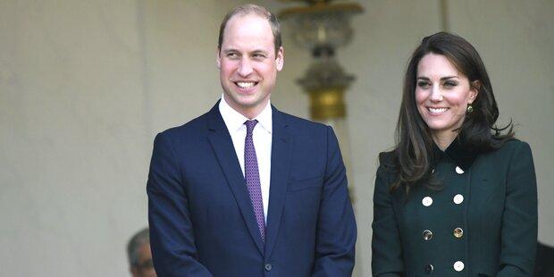 Kate und William erwarten drittes Kind
