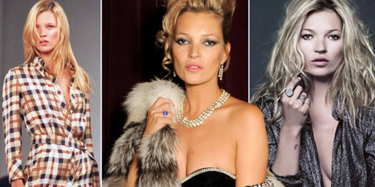 Happy Birthday: Kate Moss' 40 beste Bilder