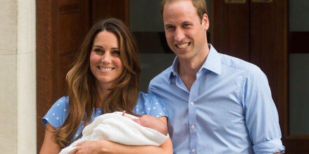 Kate braucht Hilfe mit Baby George