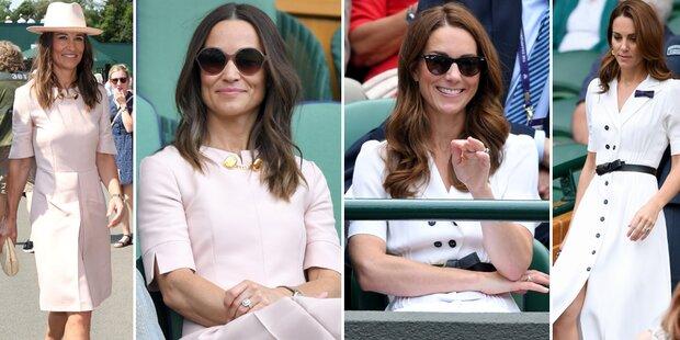 Pippa oder Kate? Wer hat besseren Tennis-Style?