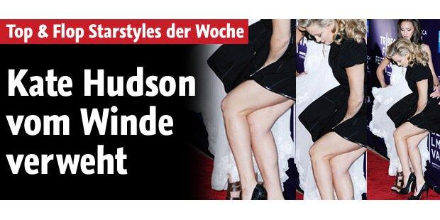 Kate Hudson wurde 'vom Winde verweht'