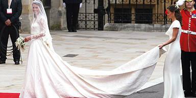 Kate Middleton Hochzeitskleid