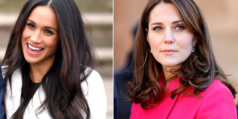So unterschiedlich sind Meghan und Kate