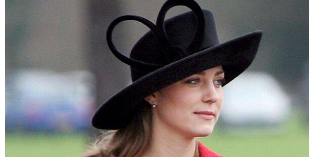 Polizeischutz für Kate Middleton