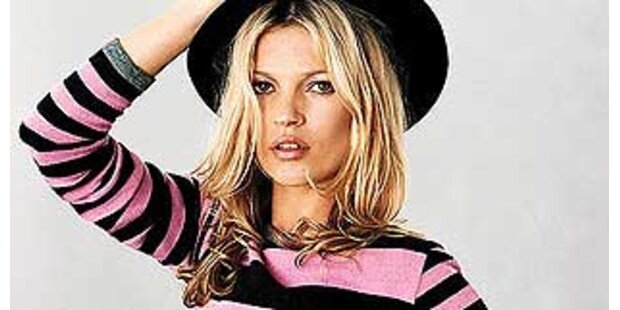 Kate Moss neue Modekollektion bei Top Shop