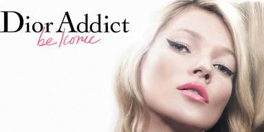 Kate Moss ist die neue Dior-Lady