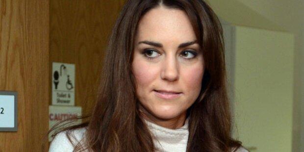 Kate sauer wegen gebrauchten Baby-Möbeln