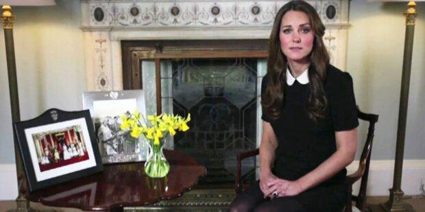 Kate ruft zu Spenden für Kinderhospize auf