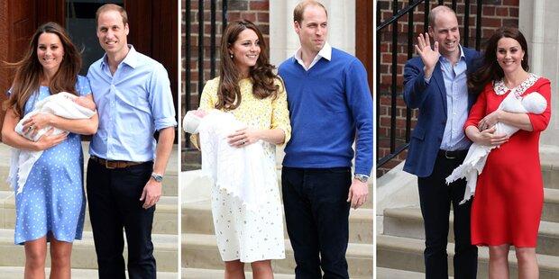 Kate: Das Geheimnis ihrer Geburten