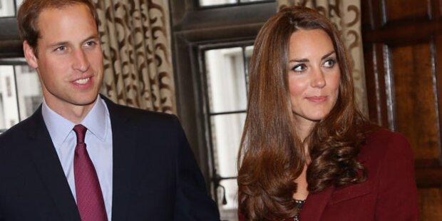 Kate zu dünn: Droht ihr Verlust des Babys?