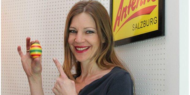 Kathis SUPER-Ei in der Antenne Salzburg Show