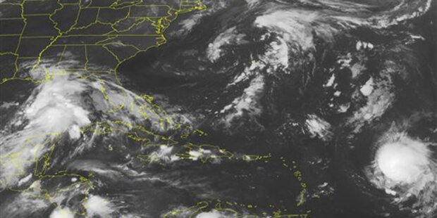 Hurrikan Katia wieder herabgestuft