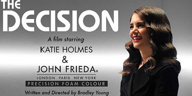 Katie Holmes modelt für John Frieda