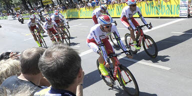 Ö-Tour: Katjuscha gewinnt Team-Zeitfahren