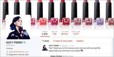 Hacker kapern Katy Perrys Twitter-Account
