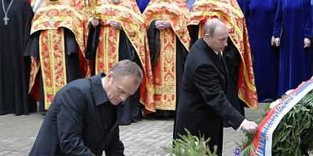 Polen ernüchtert über Katyn-Gedenkfeier