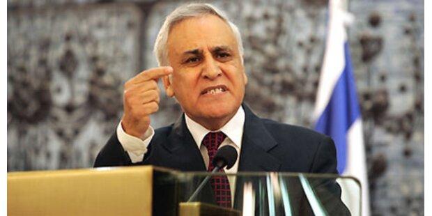 Prozess gegen Israels Ex-Präsident