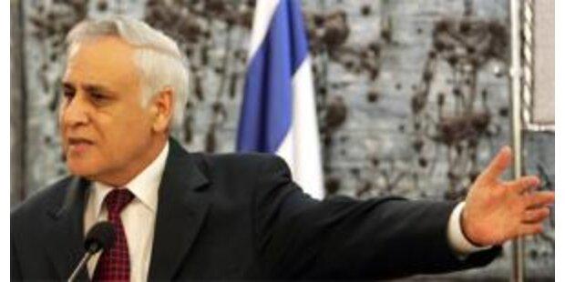 Ex-Präsident Katzav tritt Haftstrafe an