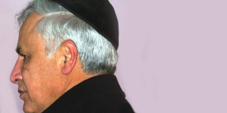 Unrühmliches Ende der Polit-Laufbahn: Mosche Katzav (c)AP