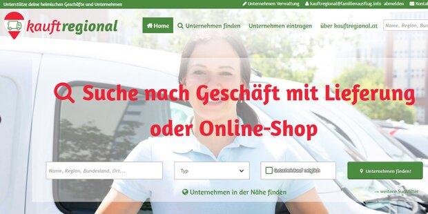Neue Plattform für regionalen Online-Einkauf