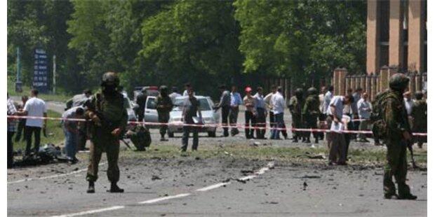 Gewalt im Kaukasus: Neun Tote