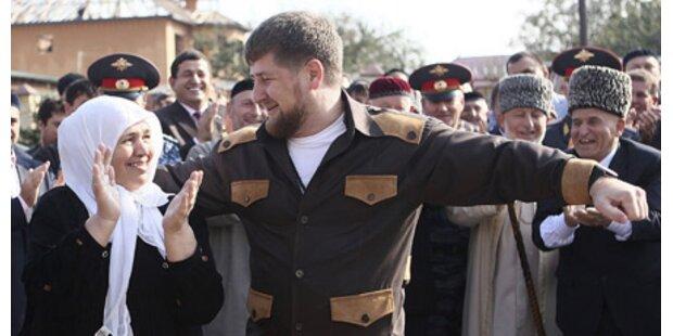 Tschetschenien bejubelt Raketenangriff
