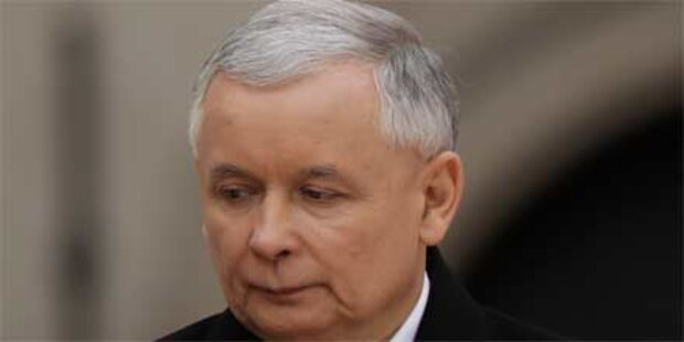 Schwache Unterstützung für Kaczynski