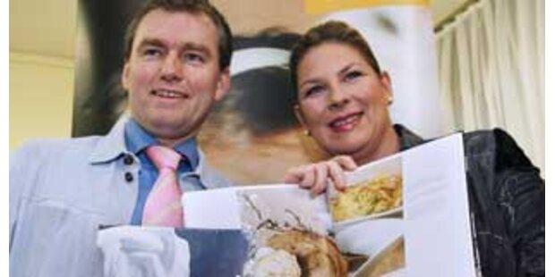Kdolsky präsentierte ihr Schweine-Kochbuch