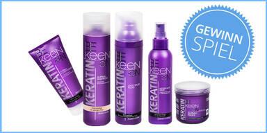 Pflege für Haar & Kopfhaut von Keen Keratin