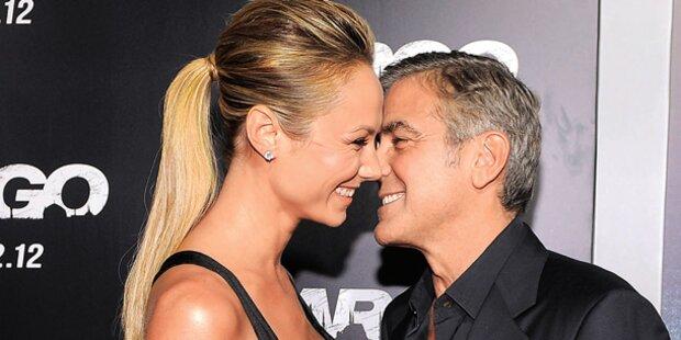 Clooney: Liebes-Auftritt oder nur Show?
