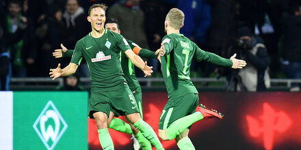 Kainz-Doppelpack sichert Bremen-Sieg