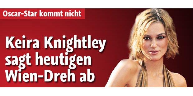 Keira Knightley sagt Wien-Dreh ab