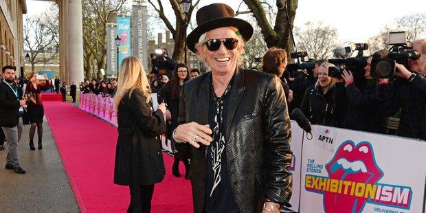Keith Richards plant TV-Programm für die BBC