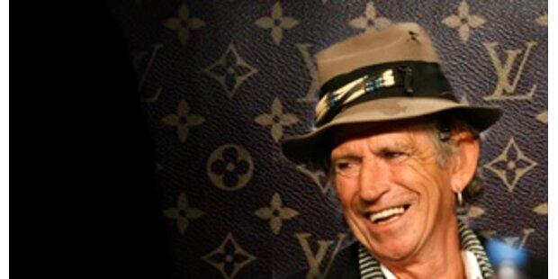 Keith Richards macht Werbung für Louis Vuitton