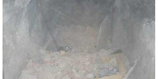 Ehepaar nach Kellereinsturz verschüttet