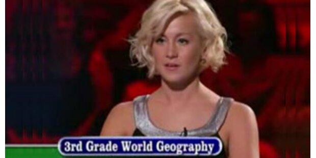 US-Reality-Show-Star blamiert sich bei Quizsendung