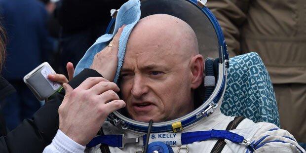 Rekord-Astronaut ist im Weltall gewachsen