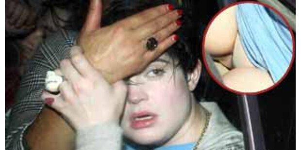 Wilde Partynacht - Kelly Osbournes Höschenblitzer