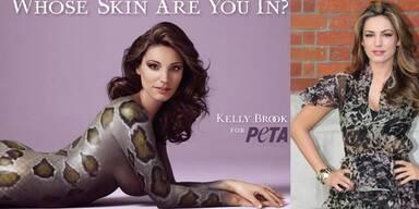 Kelly Brook enthüllt ihre Peta-Kampagne