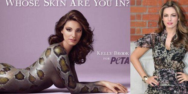 Falsche Schlange: Kelly Brook nackt